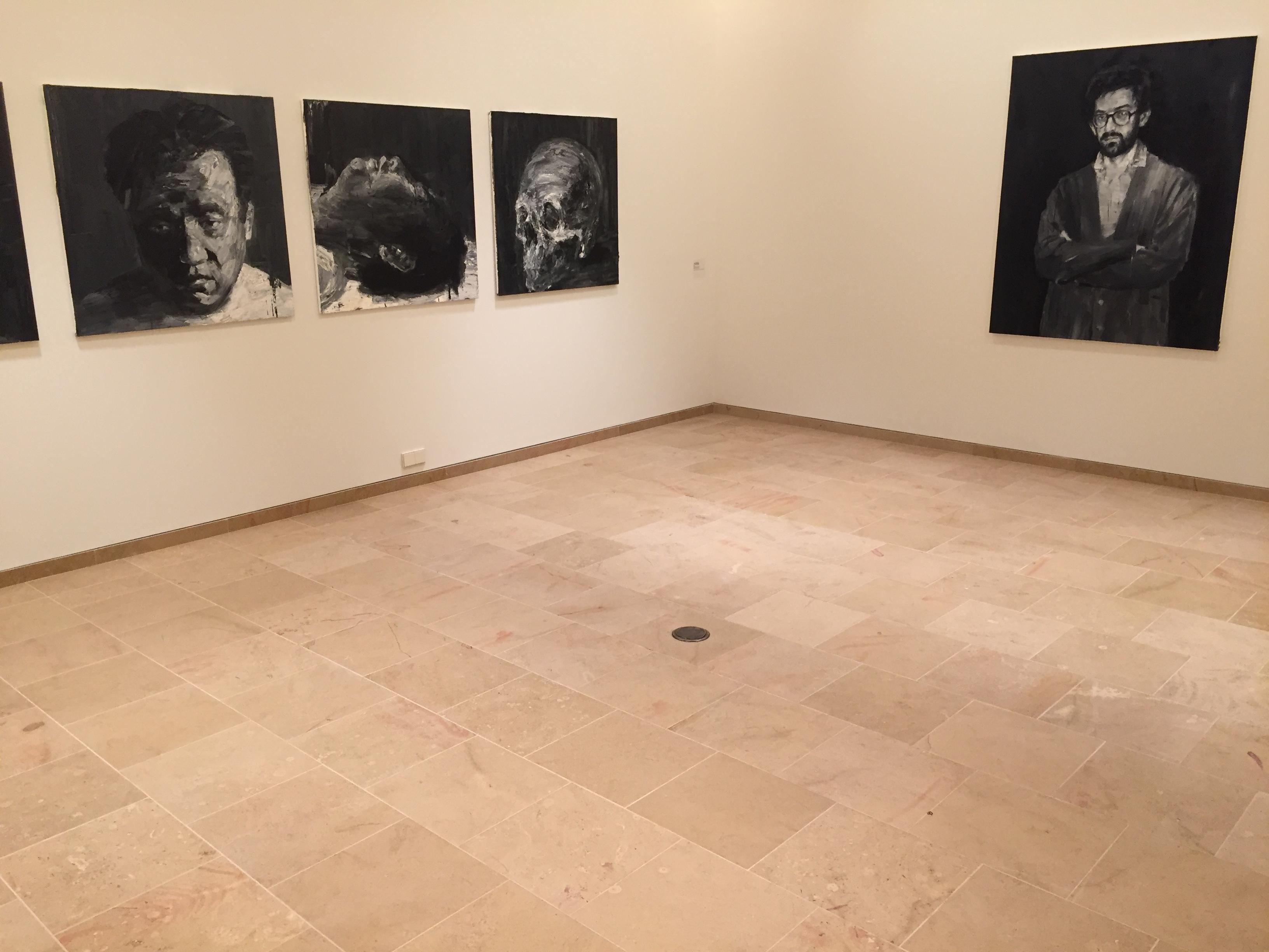 musée des beaux arts dijon corton dallage escalier SETP