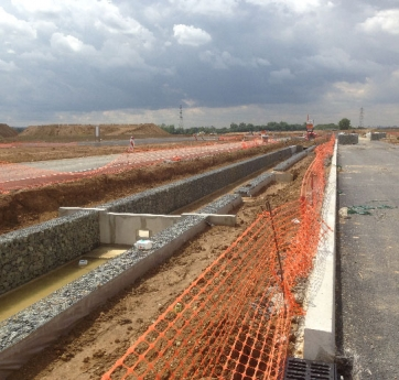 Chantier de Gabions Stonebox