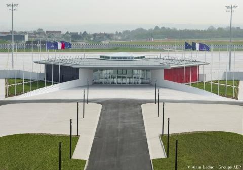 Pavillon d'honneur d'Orly en comblanchien