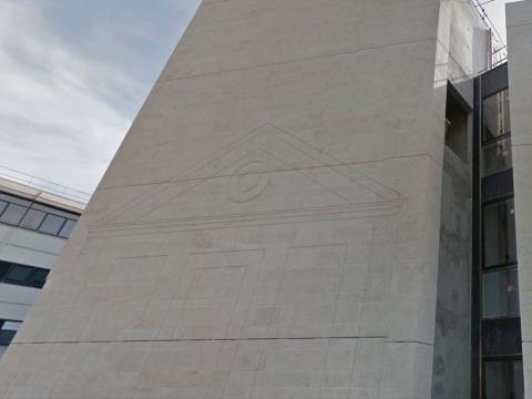 Architecture revêtement facade pierre naturelle