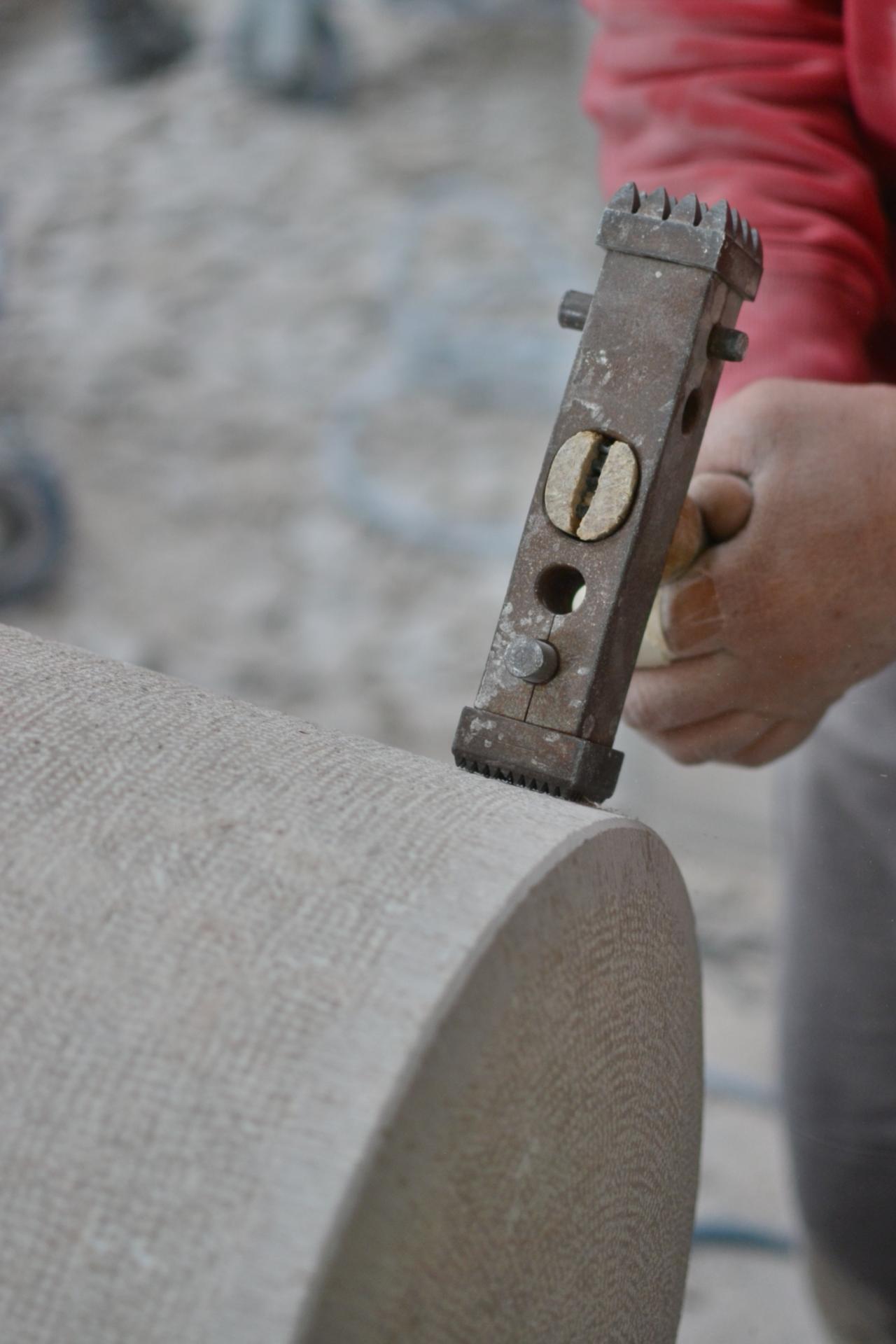tradition setp modernité tc1350 usinage comblanchien manuel bouchardée ciselée